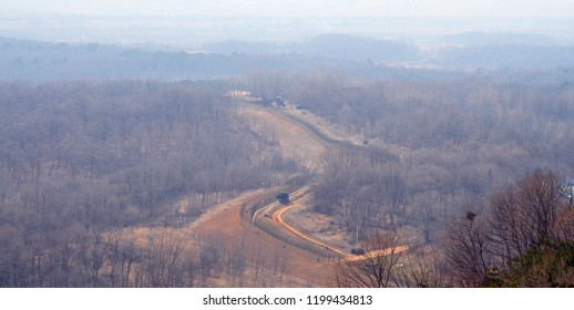 North Korea side of DMZ Korean Demilitarized Zone is a strip of land running across Korean Peninsula that serves as a buffer zone between North & South Korea which runs along the 38th parallel north