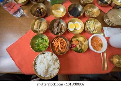 North Korean traditional food