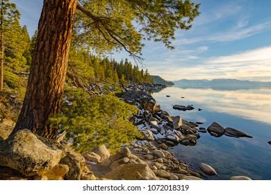 North Lake Tahoe in California