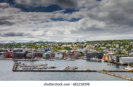 Tromsø in the north of Norway