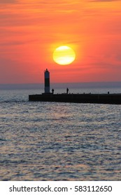 North Pier Sunset