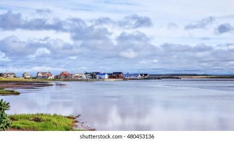 North Rustico Harbor, Prince Edward Island Canada.