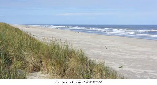 North sea beach