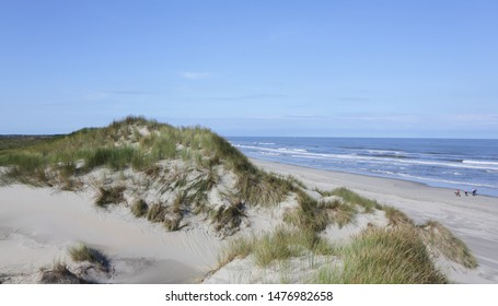 North sea beach, sand beach.
