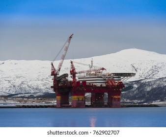 North sea in Norway,Tromso