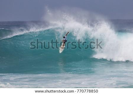 0107412c87c2d5 North Shore Oahu Hawaii USA November Stock Photo (Edit Now ...