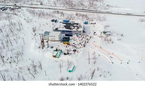 North sport in Russia (Norilsk)