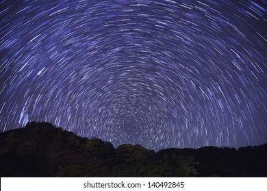 North Star Star Trail