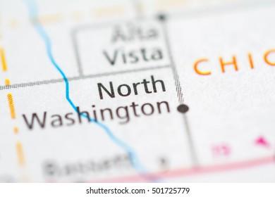 North Washington. Iowa. USA.