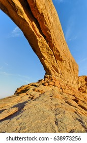 North Window, Windows Section, Arches National Park, Utah, USA