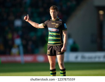 Northampton, UK. 17th November 2018. Fraser Dingwall of Northampton Saints during the Gallagher Premiership Rugby match between Northampton Saints and Wasps
