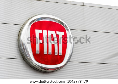 Northampton Uk February 03 2018 Fiat Stock Photo Edit Now