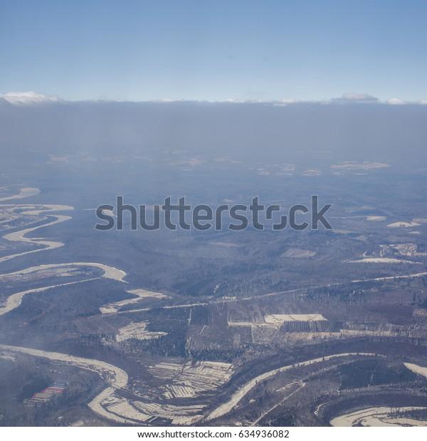 Northeast city overlooking