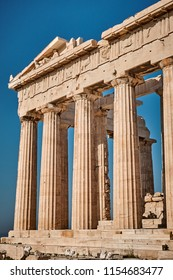 North-East corner of Parthenon, Acropolis of Athens
