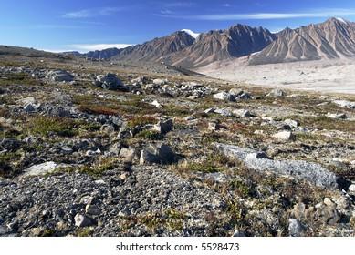 Northeast Greenland National Park Landscape