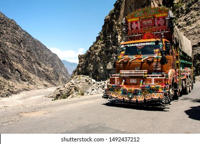 Northern area: People travelling for recreation Khghan Naran by their own vehicles and some use local transport, province of Khyber Pakhtunkhaw Pakistan, dated: 29/08/2019.