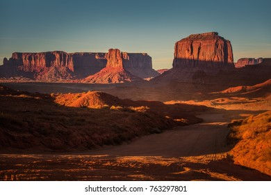 Northern Arizona Raw Sandstone Landscape. United States of America.