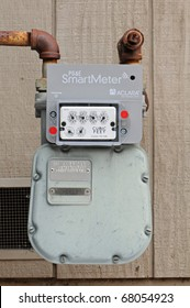 Northern California 2011.  PG&E (utility co) installs gas SmartMeters on residential and commercial buildings.  SmartMeters monitor energy quality and provide real time energy consumption data.