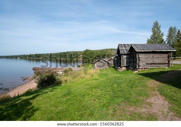 Northern Europe Sweden Dalarna Raettvik