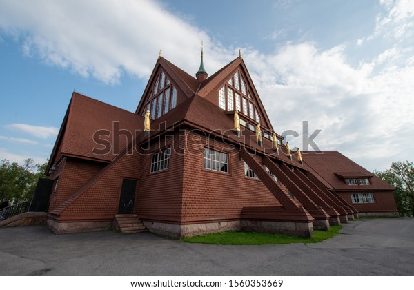 Northern Europe Sweden Kiruna Church