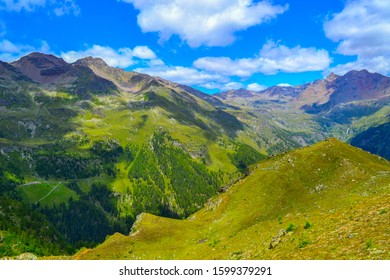 Northern Italy Summer mountain landscape