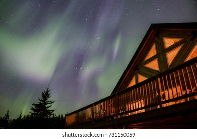 Northern light, Fairbanks, AK.