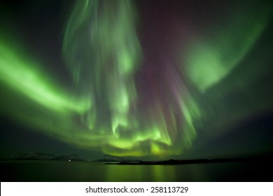Northern light in North Norway.