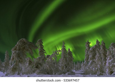 Northern Lights - Aurora borealis