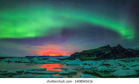 The Northern Lights or Aurora Borealis is a natural phenomenon that can paint the night sky with unearthly, surreal color