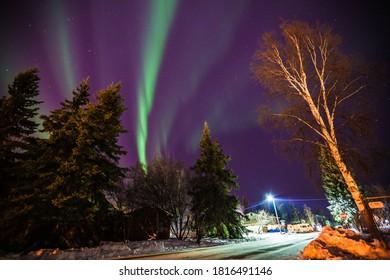 Northern lights, Aurora, Fairbanks, Alaska