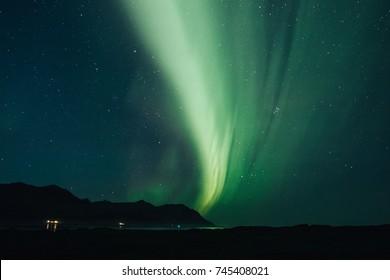 northern lights, aurora in iceland