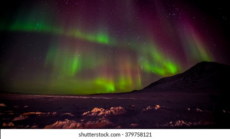 The Northern Lights captured in the Canadian Arctic. / Arctic Aurora