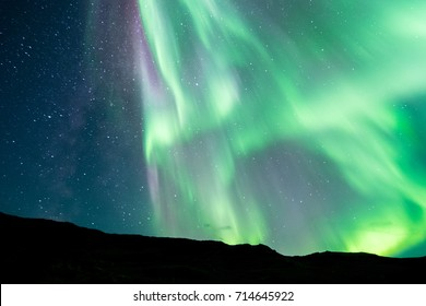 Northern Lights from Igaliku, Greenland