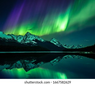 Northern Lights, Jasper National Park