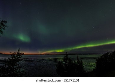 Northern Lights over the Inlet