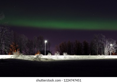 Northern Lights over the oark