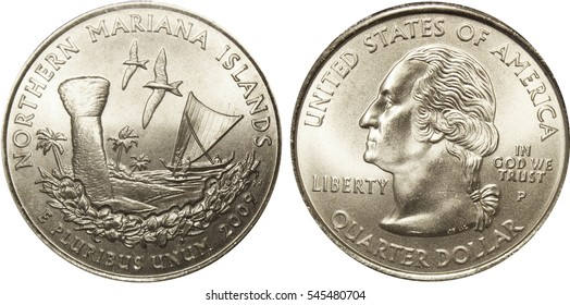 Northern Marian Islands Quarter Coin Picture