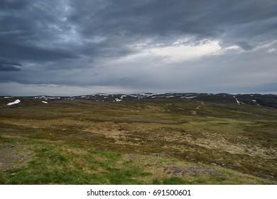 Northern Norway mountainous landscape