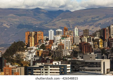 Northern part of the city of Quito