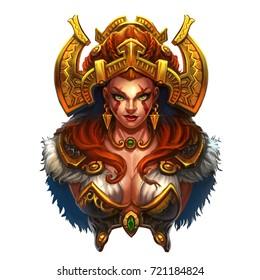 Northern Princess girl Viking Sex Logo