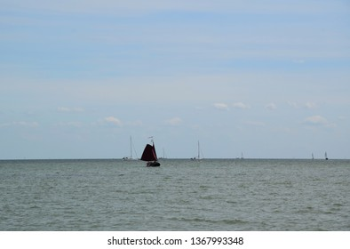 Northern Sea - View from the historic town of Edam, origin of the famous Edamer Cheese