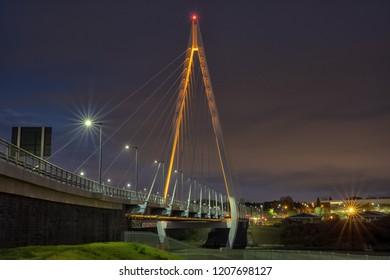 The Northern Spire Bridge is a bridge over the River Wear in Sunderland, Tyne & Wear.