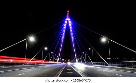 Northern Spire Bridge in Sunderland