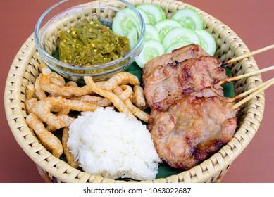 Northern Thai food,Northern Thai food ChiangMai,Northern Thai food Backgroun
