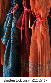 Northern Thai style woven fabric.
