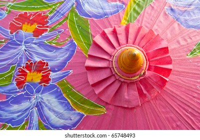 Northern Thailand Traditional Umbrella