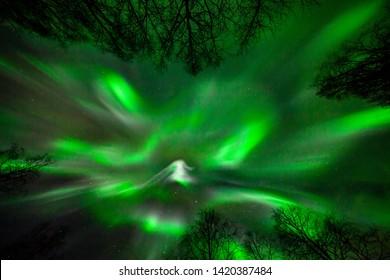 Northernlight february 2019 outside Boden