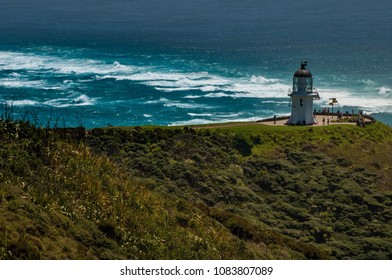 Northernmost Cape Reinga lighthouse, New Zealand