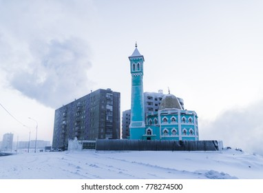 The northernmost mosque in Norilsk, Russian Federation