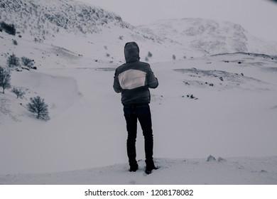 Northpole snow storm